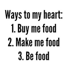 Ways to my heart: 