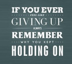 IF YOU EVER