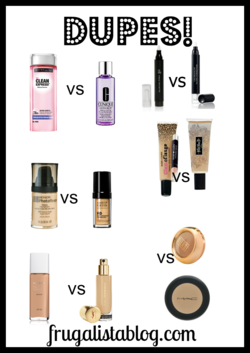 DUPES! 