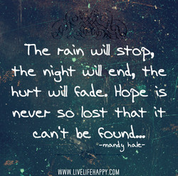 ne roan will stop, 