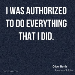 I WAS AUTHORIZED 