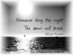 However long the night 