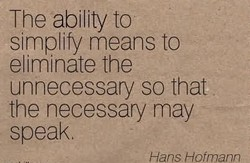 The ability to 