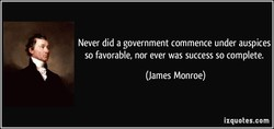 Never did a government commence under auspices 