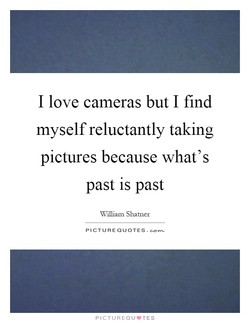 I love cameras but I find 
