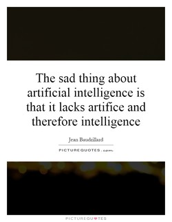 The sad thing about 