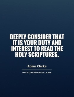 DEEPLY CONSIDER THAT 