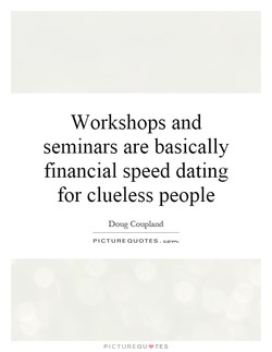 Workshops and 