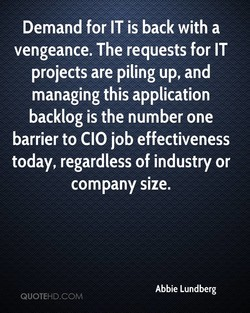 Demand for IT is back with a 