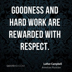 GOODNESS AND 
