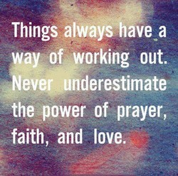 Things alwayshave a 