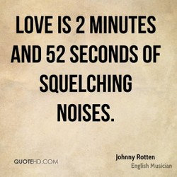 LOVE IS 2 MINUTES 