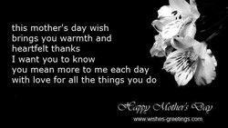this mother's day wish 