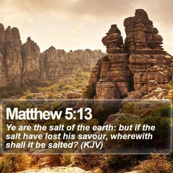 Matthew 5:13 