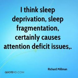I think sleep 