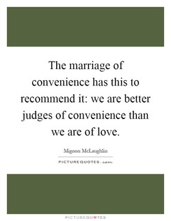 The marriage of 