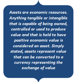 Assets are economic resources. 
