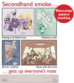 Secondhand smoke. .. 