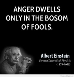 ANGER DWELLS 