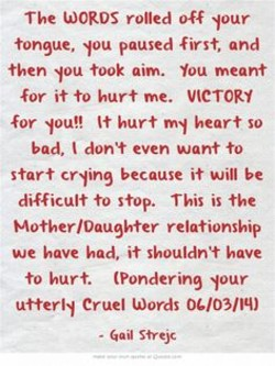 The WORDS rolled off spur 