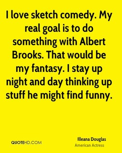 I love sketch comedy. my 