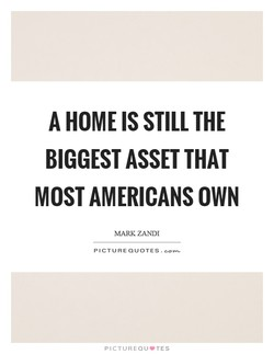 A HOME IS STILL THE 
