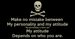 Make no mistake between 