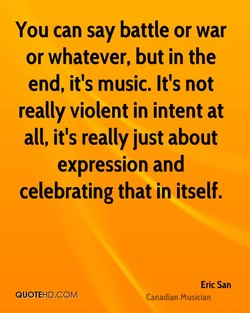 You can say battle or war 