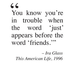 You know you 're 