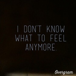 DON T KNOW 