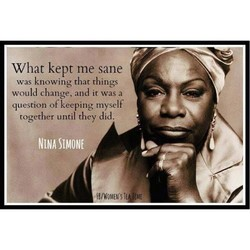 What kept me sane 
