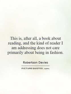 This is, after all, a book about 