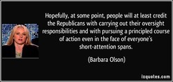 Hopefully, at some point, people will at least credit 