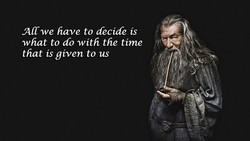ACCwe have to decide is 