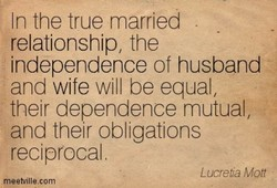 In the true married 