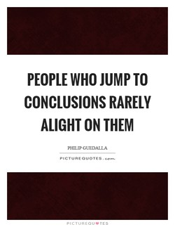 PEOPLE WHO JUMP TO 