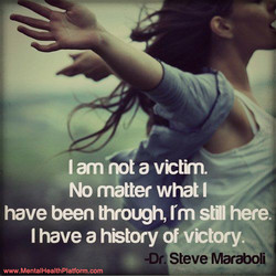 I am no a victrn. 