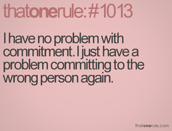 I have no problem with 