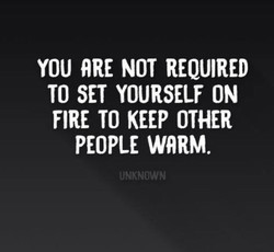 YOU NOT REQUIRED 