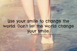 Use your smi to ch nge the 
