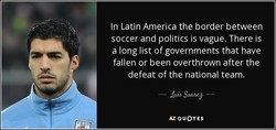 In Latin America the border between 