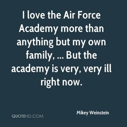 I love the Air Force 