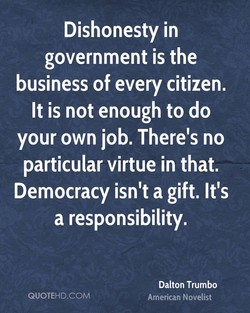 Dishonesty in 