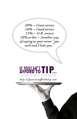 20 % = Great service 