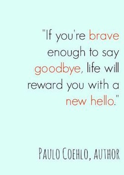 'If you're brave 