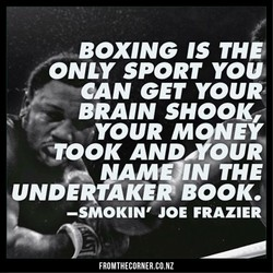 BOXING IS TH