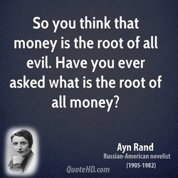 So you think that 