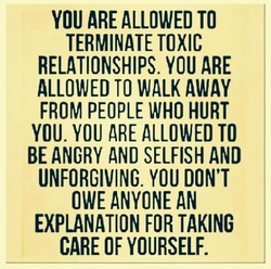 YOU ARE ALLOWED TO 