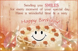 Sending you SMILES