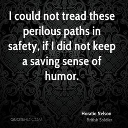 I could not tread these 